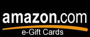 Amazon e-gift cards