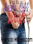 Jerk off diet - an erotic hypnosis mp3 by Miss Kay