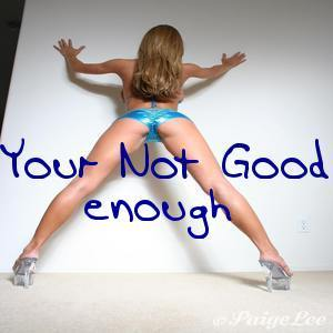 You're not good enough - mp3 by Miss Kay